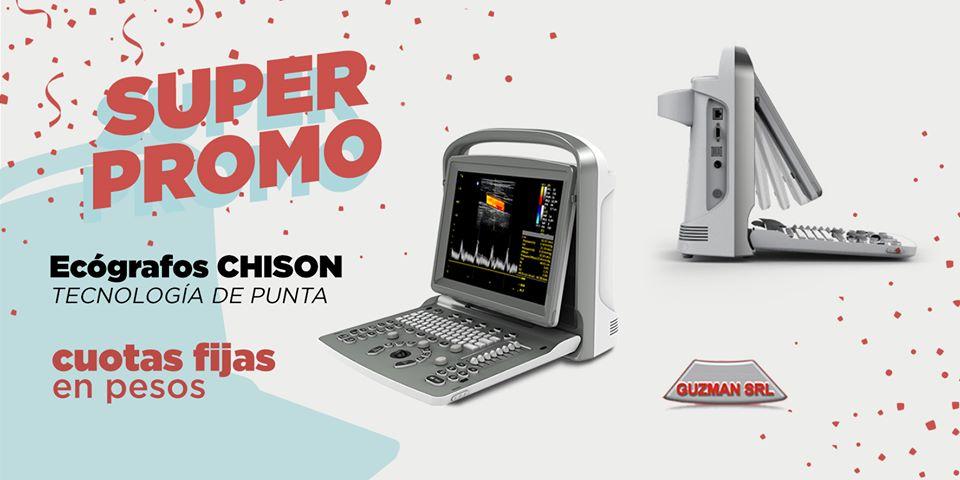 SUPER PROMO ECOGRAFOS CHISON: CUOTAS FIJAS EN PESOS